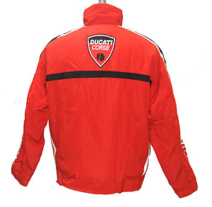 Ducati Corse Performance Jacket Red with Black Trim