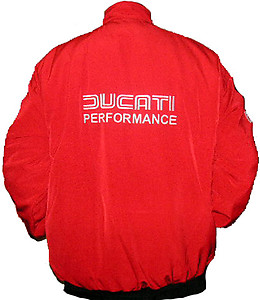 Ducati Performance Jacket Red