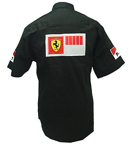 Ferrari F1 Racing Shirt Black