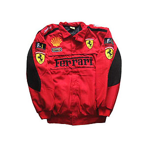Ferrari F1 Jacket Red with Black Trim