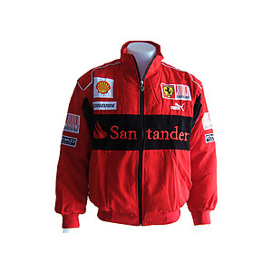 Ferrari Santander F1 Jacket Red