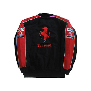 Ferrari Team Jacket Red, Black