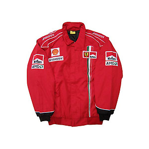 Ferrari Team Jacket Red