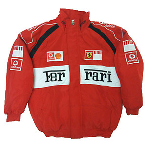 Ferrari Vodafone Racing Jacket Red & White