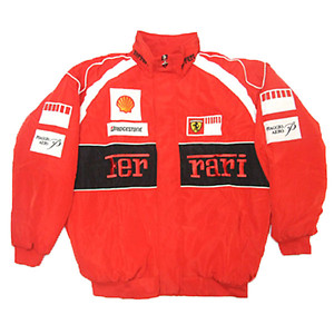 Ferrari Vodafone Racing Jacket Red & Black
