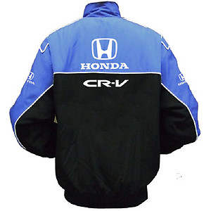 Honda CR-V Racing Jacket Blue and Black