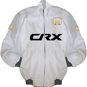 Honda CRX Racing Jacket White