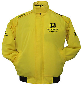 Honda Civic Racing Jacket Yellow