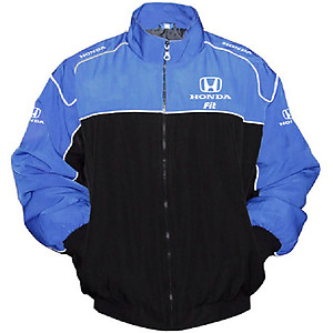 Honda Fit Racing Jacket Blue and Black