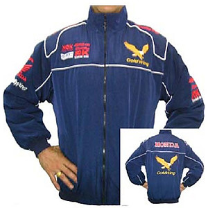 Honda Goldwing Racing Jacket Blue