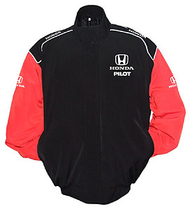 Honda Pilot Racing Jacket Black and Red
