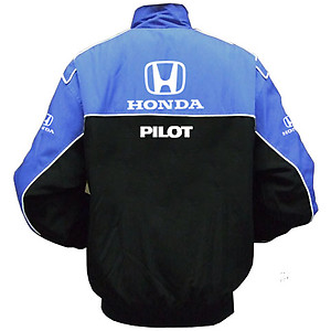 Honda Pilot Racing Jacket Blue and Black