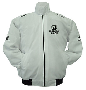 Honda Pilot Racing Jacket White