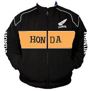 Honda Racing Jacket Orange and Black
