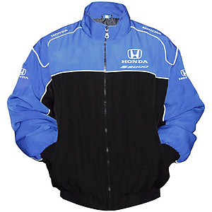 Honda S2000 Racing Jacket Blue and Black