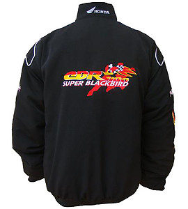 Honda Super Blackbird Racing Jacket Black