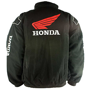 Honda Wing Racing Jacket Black