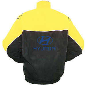 Hyundai Racing Jacket Yellow and Black
