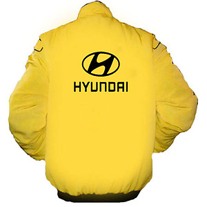 Hyundai Racing Jacket Yellow