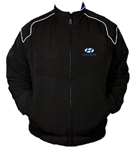 Hyundai Coupe Racing Jacket Black