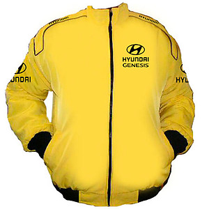 Hyundai Genesis Racing Jacket Yellow