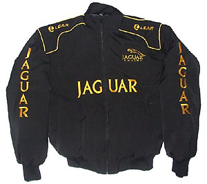 Jaguar Lear Black Racing Jacket