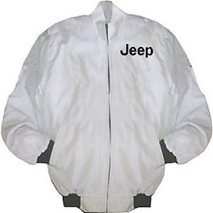 Jeep Racing Jacket White