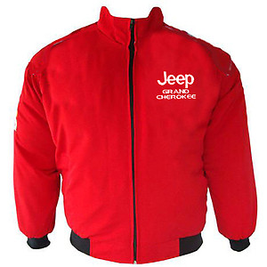 Jeep Grand Cherokee Racing Jacket Red