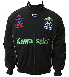 Kawasaki Ninja G-Shock Motorcycle Jacket Black