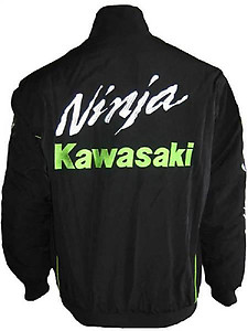 Kawasaki Ninja Motorcycle Jacket Black