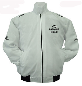 Lexus IS350 Racing Jacket White