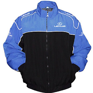 Lexus Racing Jacket Royal Blue and Black