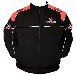 Lexus Racing Jacket Black and Red