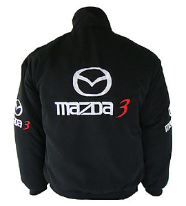 Mazda 3 Racing Jacket Black