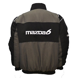 Mazda 6 Jacket Black, Dark Gray