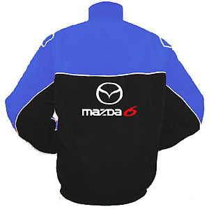 Mazda 6 Racing Jacket Royal Blue and Black