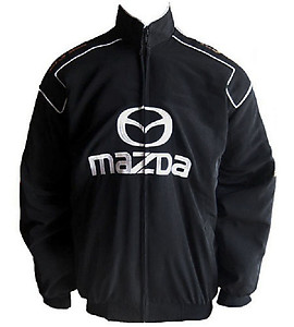 Mazda MX-5 Miata Racing Jacket Black