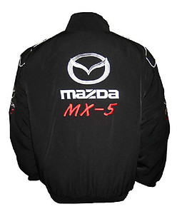 Mazda MX-5 Racing Jacket Black