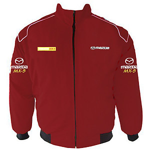Mazda MX-5 Racing Jacket Maroon