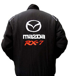 Mazda RX-7 Racing Jacket Black