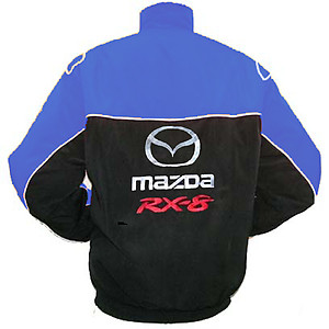 Mazda RX-8 Racing Jacket Black and Blue