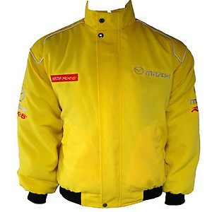 Mazda RX-8 Racing Jacket Yellow