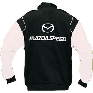 Mazda Mazdaspeed Racing Jacket Black and White