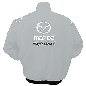 Mazdaspeed3 Racing Jacket Light Gray