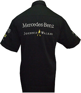 Mercedes Benz Racing Shirt Black