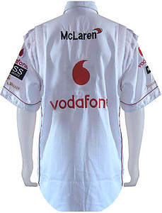 Mercedes Benz Vodafone F1 Crew Shirt White
