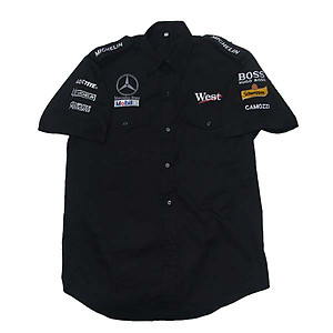 Mercedes Benz West Racing Shirt Black