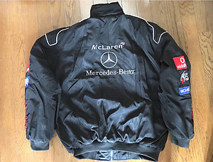 Mercedes Benz Santander Jacket Black