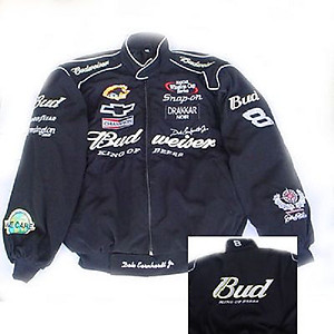 Nascar Dale Earnhardt Jr Racing Jacket Black