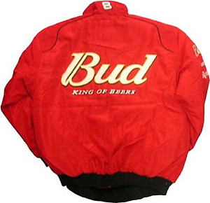 Nascar Dale Earnhardt Jr Racing Jacket Red